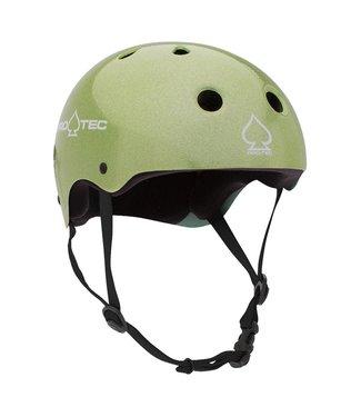 PROTEC CLASSIC HELMET GREEN FLAKE M