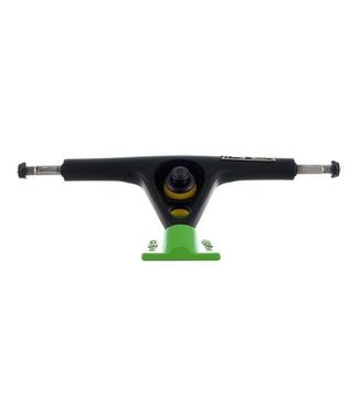 ZFLEX LONGBOARD TRUCKS 180MM BLACK GREEN SET OF 2