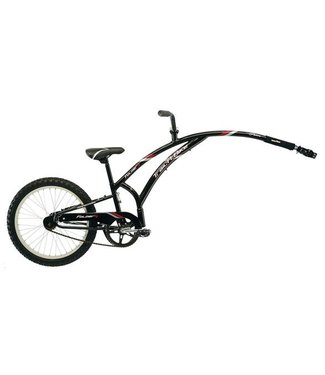 ADAMS Adams Trail A Bike Folder One Child Trailer: Black