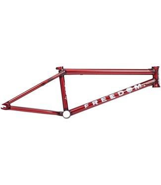 "BSD FREEDOM 20.5"" FRAME FLAT TRANS RED"