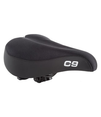 CLOUD-9 SADDLE C9 COMFORT WEB SPRING LYCRA BK