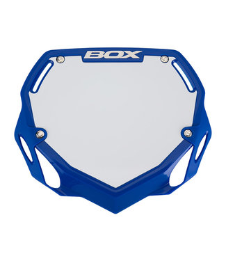BOX COMPONENTS BOX NUMBER PLATE BLUE LARGE