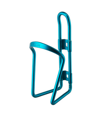 DELTA BOTTLE CAGE ALUM TEAL