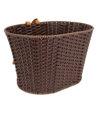 Deluxe Rattan Basket
