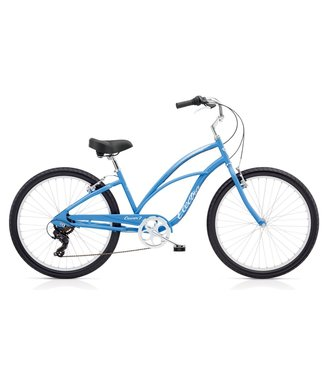 ELECTRA CRUISER 7D LADIES FRENCH BLUE 7 SP