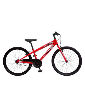 "SUN BICYCLES SCOUT 24"" 1 SPEED RED"