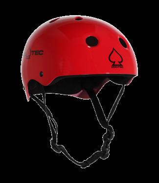 PROTEC CLASSIC GLOSS RED XL HELMET