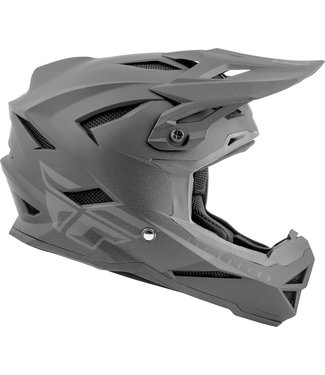 FLY RACING DEFAULT 2019 HELMET MATTE BLACK/GREY YL