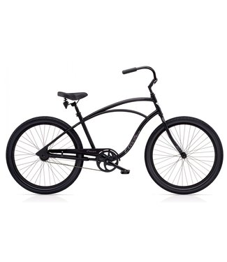 "Cruiser Lux 1 Men's 26"" Matte Black"
