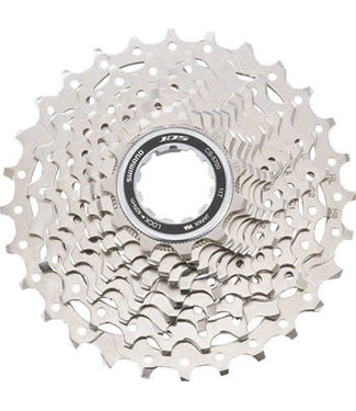 Shimano 105 CS-5700 Cassette - 10 Speed, 11-25t, Silver