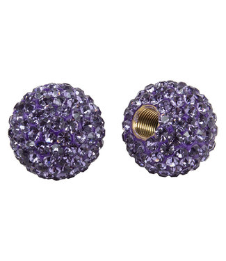 Cruiser Candy VALVE CAPS C-CANDY BLING VIOLET