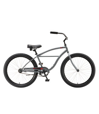 "SUN BICYCLES REVOLUTION STEEL 24"" CB  GREY 2019"