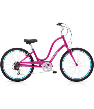 Townie Original 7D Ladies' 26 Raspberry Metallic