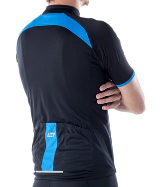 Bellwether Criterium Pro Men's Cycling Jersey: Black MD