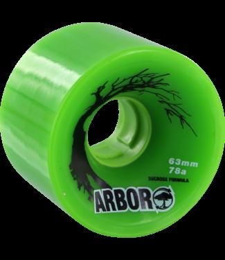 ARBOR BIOTHANE 63mm 78a GREEN