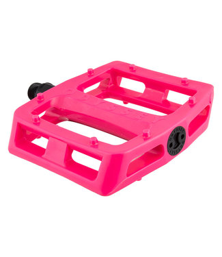 PEDALS GRANDSTAND PC 9/16 HOT PINK