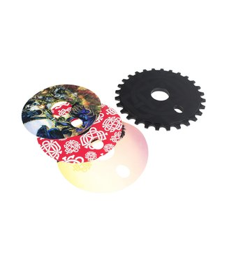 Discogram Sprocket 25T Black with Decals