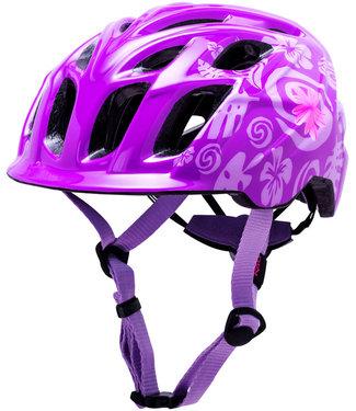 Kali Protectives Chakra Child Helmet Tropical Purple