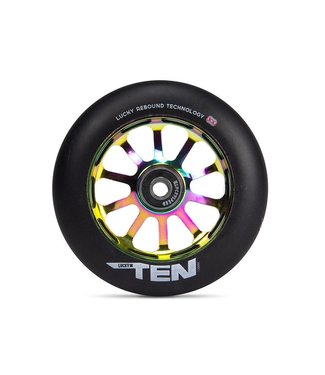 LUCKY TEN SCOOTER WHEEL NEOCHROME 120mm