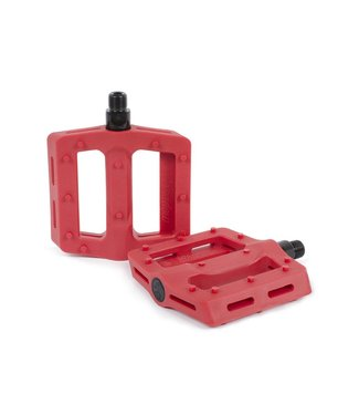The Shadow Conspiracy SURFACE PLASTIC PEDAL RED
