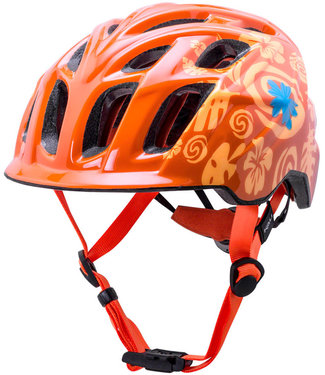 Kali Protectives Chakra Child Helmet Tropical Orange