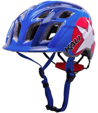 Kali Protectives Chakra Child Helmet Star Blue/Red