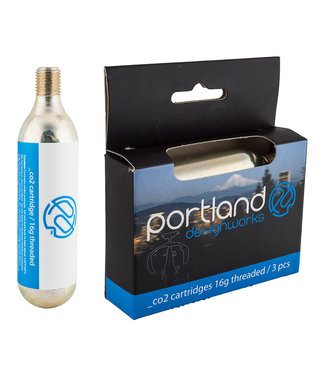 PORTLAND DESIGN WORKS Threaded Co2 Cartridges