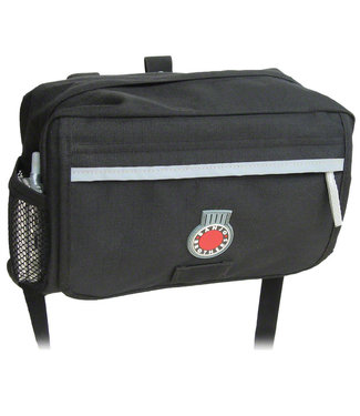 Banjo Brothers Brothers Handlebar Bag: MD, Black