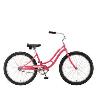 """SUN BICYCLES BIKE SUN REV STEEL 24"""" GB CORAL"""