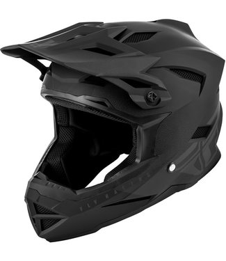 FLY RACING DEFAULT HELMET MATTE BLACK/GREY LG