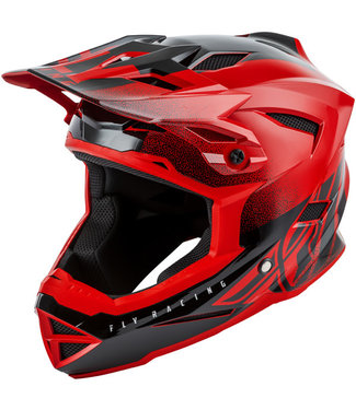 FLY RACING DEFAULT HELMET RED/BLACK LARGE
