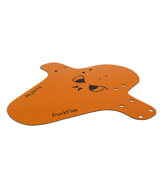 MILES WIDE FENDERS FRONT OR REAR DUCK FLAP ORANGE