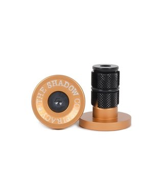 The Shadow Conspiracy DEADBOLT BAR ENDS COPPER
