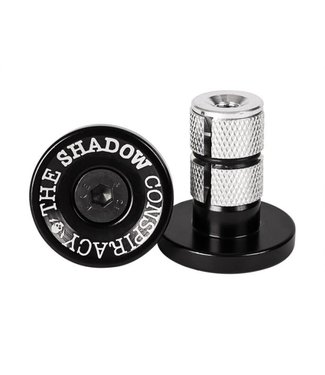 The Shadow Conspiracy DEADBOLT BAR ENDS BLACK