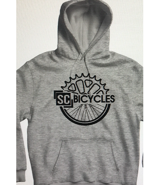 SC BICYCLES GRAY HOODIE