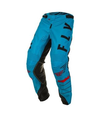 FLY RACING KINETIC K120 PANTS BLUE/BLACK/RED SZ 26