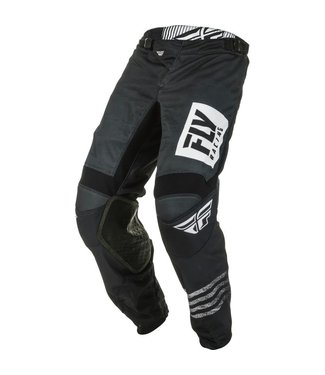 FLY RACING KINETIC MESH NOIZ PANTS BLACK/WHITE SZ 30