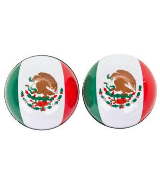TRICKTOPZ VALVE CAPS TRICKTOPZ FLAG MEXICO 1pr/PK