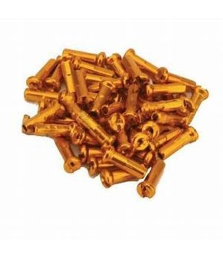 USA Brand 14g Alloy Nipples 36 PER PACK ORANGE