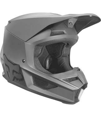 Fox Racing YOUTH V1 MATTE BLACK HELMET SMALL