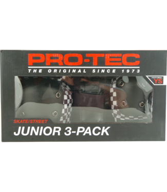 PROTEC Junior 3 Pack Skate/Street Ys CHK