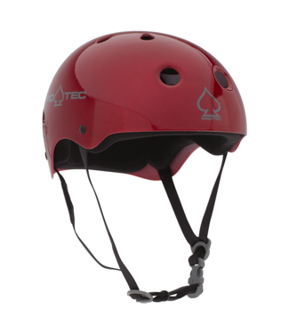PROTEC CLASSIC RED FLAKE-LARGE HELMET