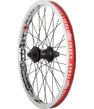 "Hazard Lite Freecoaster Rear Wheel - 20"", 14 x 110mm, Rim Brake, Freecoaster, Silver, Clincher"