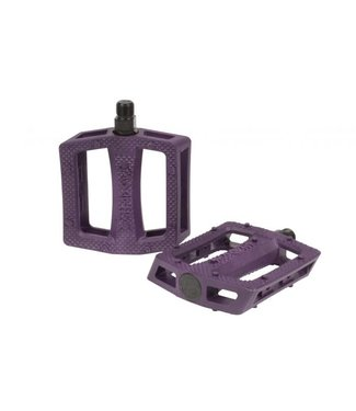 """The Shadow Conspiracy RAVAGER PLASTIC PEDALS 9/16"""" PURPLE"""