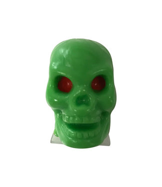 TRICKTOPZ Valve Caps - GREEN SKULL
