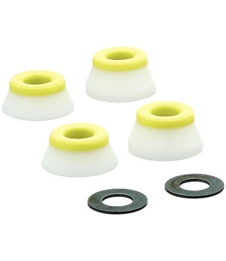 BONES Wheels Medium Bushings (2 Set) - YELLOW/WHITE