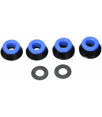 BONES Wheels Soft Bushings (2 Set) - Black/Blue