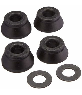 BONES Wheels Hard Bushings (2 Set) - Black/Black