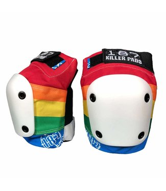 187 KILLER PADS Slim Knee Pads - Rainbow - Medium