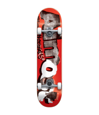 ALMOND DISTRESSED SKATEBOARD 8.0 RED